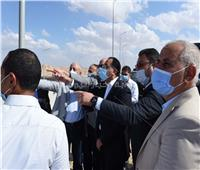 صور..رئيس الوزراء يشيد بالطفرة الهائلة في محاور وطرق 6 أكتوبر