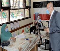 انتخابات نواب 2020| محافظ بني سويف يطالب بتطبيق الإجراءات الوقائية
