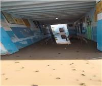 نائب وزير التعليم يكشف حقيقة انهيار سور مدرسة إعدادية بقنا