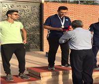 طالب هندسة القناة يفوز بذهبية كأس الاتحاد للرماية