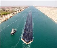 عبور أكبر سفينة حاويات في العالم تعمل بالغاز الطبيعي لقناة السويس