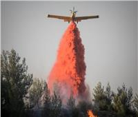 إسرائيل تدفع بست طائرات إطفاء لمكافحة حرائق الغابات بالجليل