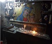 شاهد .. «مغارة أثرية» و«بئر العذراء» أهم معالم كنيسة «مسطرد»