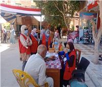مايا مرسي تشيد بمشاركة المرأة فيأول أيام انتخابات النواب 2020