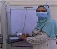 انتخابات النواب 2020.. السيدات يتصدرن المشهد في لجان التصويت بالدقي