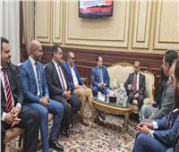 تنسيقية شباب الأحزاب تهنئ  أمين عام الشيوخ بمنصبه