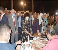 وزيرة الثقافة تفتتح الدورة الثالثة عشرة من مهرجان الحرف التقليدية