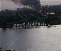 الحماية المدنية بالقاهرة تسيطر على حريق بجزيرة الذهب بالمعادي