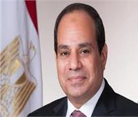 الرئيس السيسي يستقبل رئيس مجلس السيادة السوداني