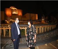 إيناس عبد الدايم : مسرح النافورة إضافة للبنية الثقافية المصرية