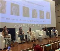 منه شلبي من «الجونة»:نحتاج مشاركة المرأة في جميع مراحل الصناعة