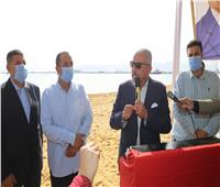 شاطئ شعبي جديد بكورنيش السويس والافتتاح في شم النسيم