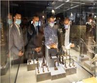 العناني يتفقد متحف كفر الشيخ قبل افتتاحه رسميا.. صور