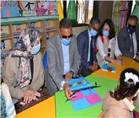 افتتاح مدرسة للتعليم المجتمعي ضمن ٧١ مدرسة بقرى مطروح