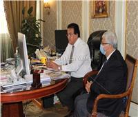 تفاصيل اجتماع وزير التعليم العالي بالأساتذة المصريين العاملين بالجامعات اليابانية