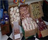 ضبط 29 ألف قطعة حلوى داخل مصنع بدون ترخيص في الغربية