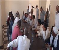 رئيس مركز ومدينة القنطرة غرب يبحث مطالب ومشاكل أهالي قرية الروضة
