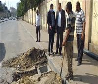 استعدادا للأمطار.. نائب محافظ القاهرة يتفقد تطهير بلاعات بحدائق القبة