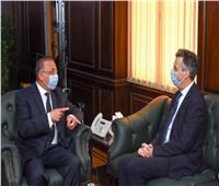 محافظ الإسكندرية يبحث مع سفير بريطانيا تعزيز العلاقات الثنائية