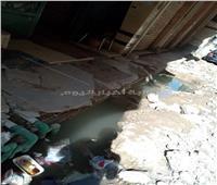 «مياه الشرب» مهدرة منذ 3 أيام بسبب كسر ماسورة في الإسكندرية
