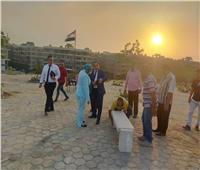 نائب محافظ القاهرة تتفقد أعمال تطوير حديقة «نيركو» بالمعادي