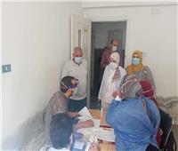 الكشف الطبي على 554 من أهالي قرية «برما» بالغربية
