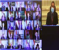 صور وفيديو| «تحذير من كورونا ومد مهلة التصالح».. تفاصيل اجتماع الحكومة