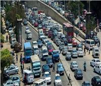 كثافات مرورية بمعظم شوارع القاهرة والجيزة