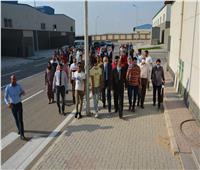 محافظة المنيا تنظم جولة تعريفية لشباب المستثمرين بالمجمع الصناعي