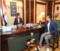 حوار| وزيرة الهجرة: «مصر تستطيع بالصناعة» يدعم الاستثمار