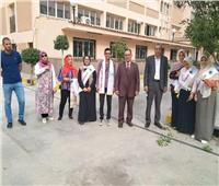 طلاب طب بيطري المنوفية يشاركون في فعاليات أسبوع البيئية الثقافي