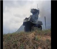 فيديو| بيلاروس تختبر روبوتا مقاتلا