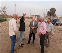 صور| نائب محافظ الجيزة يتفقد شوارع أوسيم لمتابعة النظافة والإشغالات