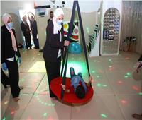 وزيرة التضامن تفتتح مركز الشلل الدماغي والعلاج الطبيعي بمجمع خدمات الإعاقة