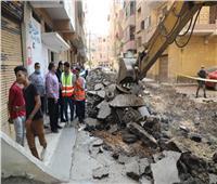 محافظ المنوفية يتفقد أعمال تطوير شوارع شبين الكوم