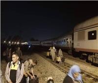 أول تصريحات لركاب قطار طنطا عقب نجاتهم