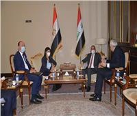وزيرة التعاون الدولي تعقد جلسة مباحثات ثنائية مع نائب رئيس الوزراء العراقي