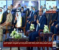 الافتتاحات الرئاسية| الرئيس السيسي: «كل مليون مواطن يحتاجون إلى جامعة لذلك نحتاج إلى 100 جامعة»