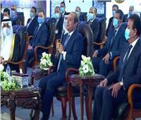 الافتتاحات الرئاسية| «السيسي»: افتتاح أكبر محطة معالجة مياه في العالم خلال شهرين