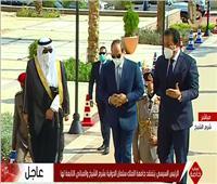 الافتتاحات الرئاسية| السيسي يتفقد جامعة الملك سلمان في شرم الشيخ