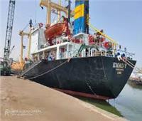 تداول 32 سفينة بموانئ بورسعيد