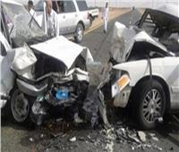 إصابة 4 أشخاص في حادثين منفصلين في بني سويف