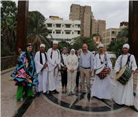 صور| نائب محافظ القاهرة يحتفل بانتهاء أعمال تطوير كوبري المانسترلي