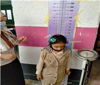 انطلاق فاعليات مبادرة الكشف عن السمنة والأنيميا والتقزم بالمدارس