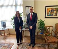 أمين الوكالة المصرية للشراكة يلتقي مدير المعهد القومي للحوكمة