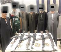 ضبط ١٢ بندقية آلية في حملة «حقن الدماء» بأسيوط