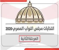 إنفوجراف| مواعيد ومحافظات المرحلة الثانية من انتخابات مجلس النواب 2020