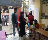 انتخابات النواب 2020| تطبيق الإجراءات الاحترازية بلجان القاهرة