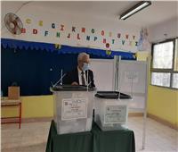 انتخابات النواب 2020  رضا حجازي يدلي بصوته