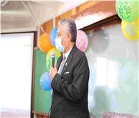 رئيس جامعة جنوب الوادي يشهدحفل استقبال الطلاب الجدد